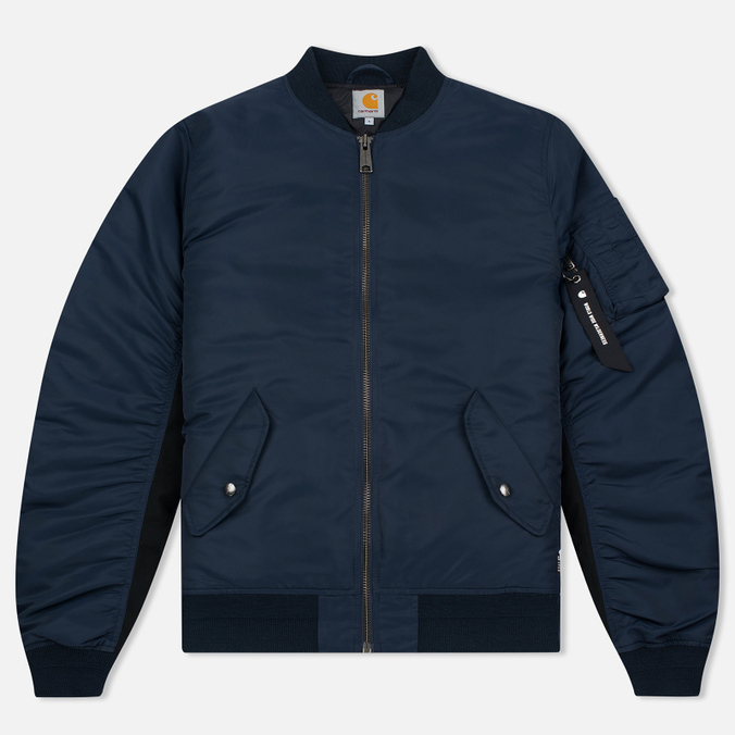 Мужская куртка бомбер Carhartt WIP Ashton 5.5 Oz Navy/Black