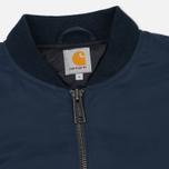 Мужская куртка бомбер Carhartt WIP Ashton 5.5 Oz Navy/Black фото- 1