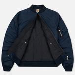 Мужская куртка бомбер Carhartt WIP Ashton 5.5 Oz Navy/Black фото- 2
