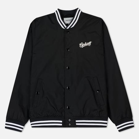 Мужская куртка бомбер Carhartt WIP Power 2.5 Oz Black/White