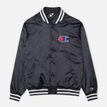 Мужская куртка бомбер Champion Reverse Weave Classic Navy фото- 0