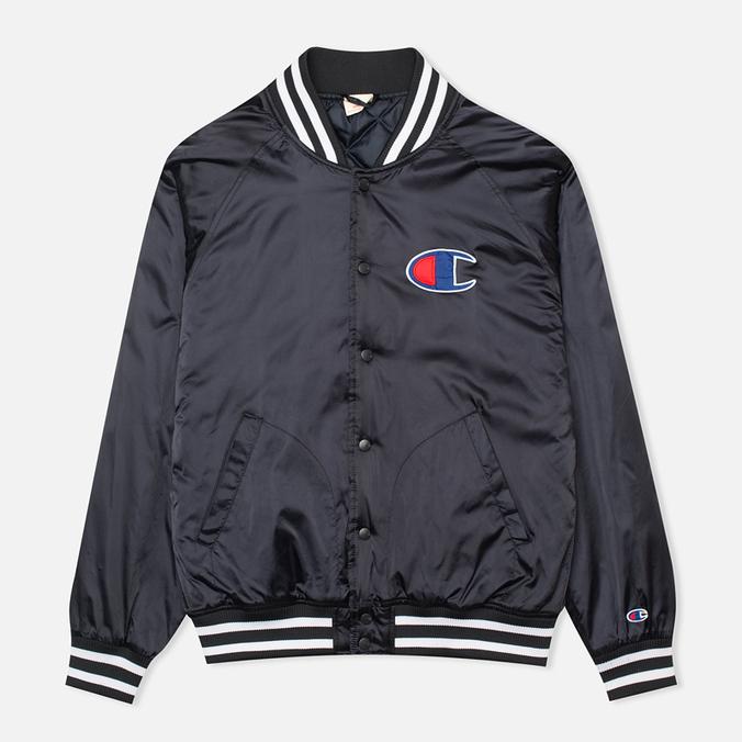 Мужская куртка бомбер Champion Reverse Weave Classic Navy