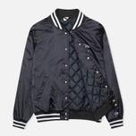 Мужская куртка бомбер Champion Reverse Weave Classic Navy фото- 1