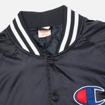 Мужская куртка бомбер Champion Reverse Weave Classic Navy фото- 3