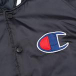 Мужская куртка бомбер Champion Reverse Weave Classic Navy фото- 4