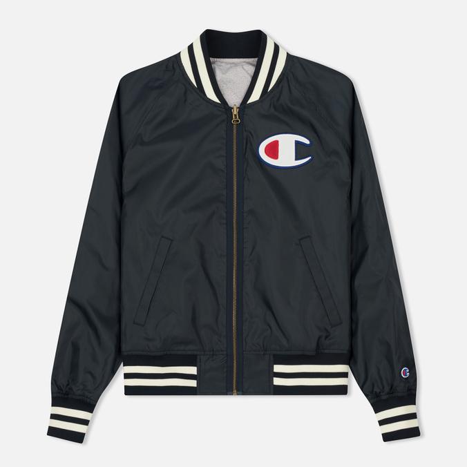 Мужская куртка бомбер Champion Reverse Weave Bilateral Light Oxford Grey