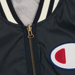 Мужская куртка бомбер Champion Reverse Weave Bilateral Light Oxford Grey фото- 1