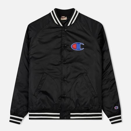 Мужская куртка бомбер Champion Reverse Weave Classic Black