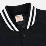 Мужская куртка бомбер Champion Reverse Weave Satin Logo Backside Black фото- 2