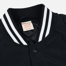 Мужская куртка бомбер Champion Reverse Weave Satin Logo Backside Black фото- 2