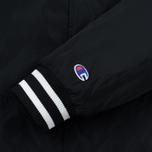 Мужская куртка бомбер Champion Reverse Weave Satin Logo Backside Black фото- 5