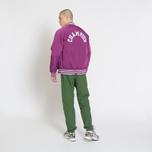 Мужская куртка бомбер Champion Reverse Weave Satin Logo Backside Purple фото- 9