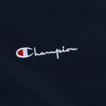 Мужская куртка бомбер Champion Reverse Weave Satin Logo Backside Navy фото- 3