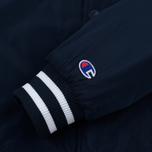 Мужская куртка бомбер Champion Reverse Weave Satin Logo Backside Navy фото- 5