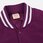 Мужская куртка бомбер Champion Reverse Weave Satin Logo Backside Purple фото- 2