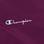 Мужская куртка бомбер Champion Reverse Weave Satin Logo Backside Purple фото- 3