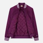 Мужская куртка бомбер Champion Reverse Weave Satin Logo Backside Purple фото- 1