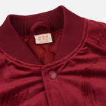 Мужская куртка бомбер Champion Reverse Weave Velvet Logo Backside Burgundy фото- 4