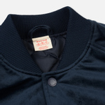 Мужская куртка бомбер Champion Reverse Weave Velvet Logo Backside Navy фото- 2