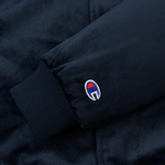 Мужская куртка бомбер Champion Reverse Weave Velvet Logo Backside Navy фото- 4