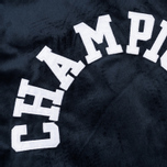 Мужская куртка бомбер Champion Reverse Weave Velvet Logo Backside Navy фото- 5