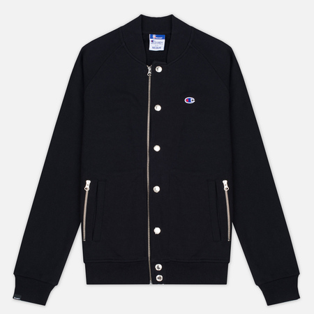 Мужская куртка бомбер Champion Reverse Weave x Beams Bomber Black