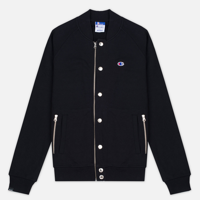 Champion Reverse Weave x Beams Bomber Men's Bomber Black