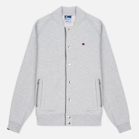 Мужская куртка бомбер Champion Reverse Weave x Beams Bomber Grey Marl