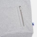 Мужская куртка бомбер Champion Reverse Weave x Beams Bomber Grey Marl фото- 4