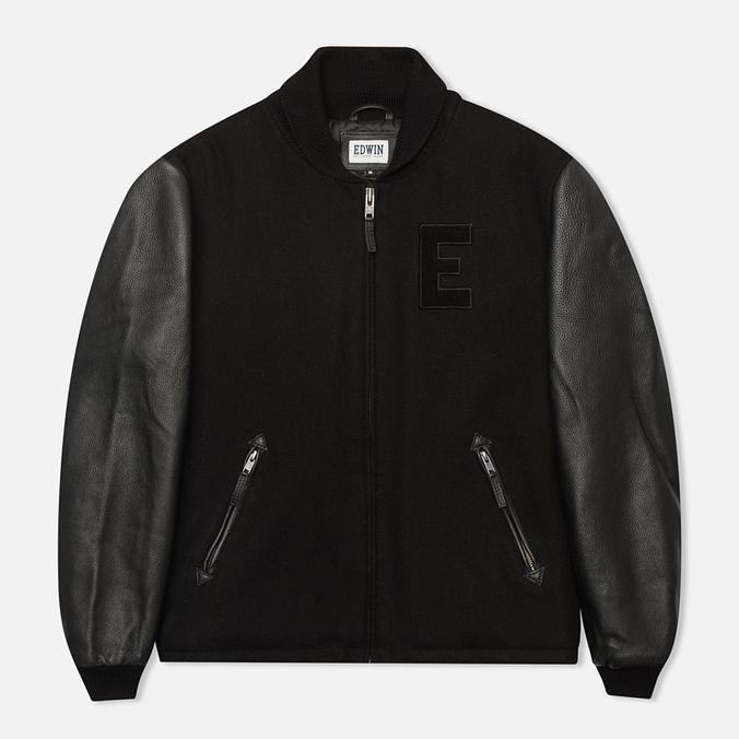Мужская куртка бомбер Edwin Baseball Black