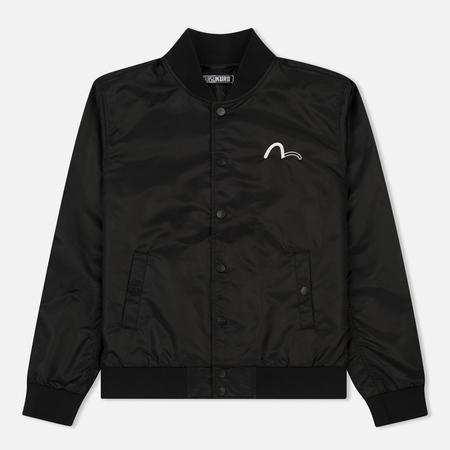 Мужская куртка бомбер Evisu Bird Outline Black