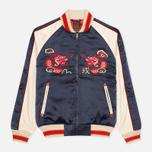 Мужская куртка бомбер Evisu Dragon Souvenir Navy фото- 0