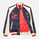 Мужская куртка бомбер Evisu Dragon Souvenir Navy фото- 2