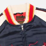 Мужская куртка бомбер Evisu Dragon Souvenir Navy фото- 3