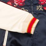 Мужская куртка бомбер Evisu Dragon Souvenir Navy фото- 4