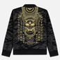 Мужская куртка бомбер Evisu Embroidered Hannya Heraldry MA-1 Black фото - 6