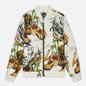 Мужская куртка бомбер Evisu Evergreen Tiger Landscape All Over Printed Ecru Multicolor фото - 0