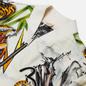 Мужская куртка бомбер Evisu Evergreen Tiger Landscape All Over Printed Ecru Multicolor фото - 1