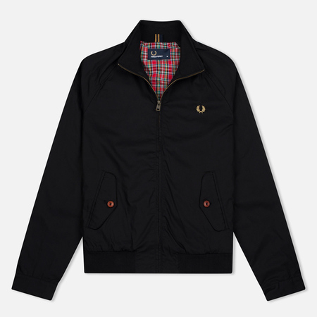 Fred Perry Ealing Men's Bomber Black