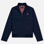 Мужская куртка харрингтон Fred Perry Ealing Carbon Blue фото- 0