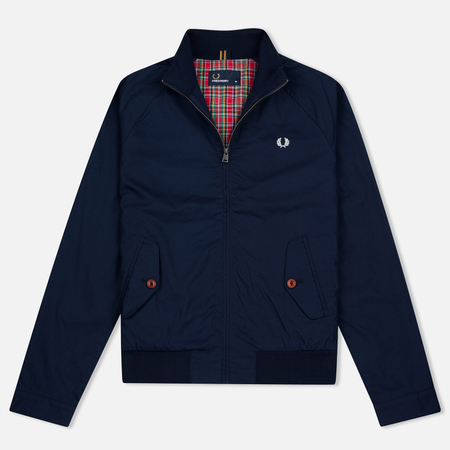 Fred Perry Ealing Men's Bomber Carbon Blue