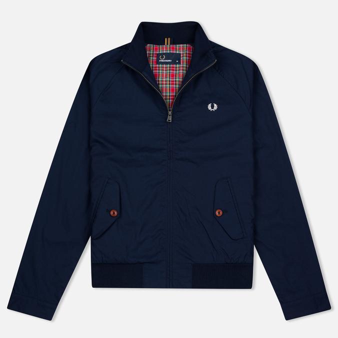 Мужская куртка харрингтон Fred Perry Ealing Carbon Blue