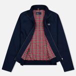 Мужская куртка харрингтон Fred Perry Ealing Carbon Blue фото- 1