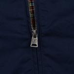 Мужская куртка харрингтон Fred Perry Ealing Carbon Blue фото- 5