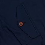 Мужская куртка харрингтон Fred Perry Ealing Carbon Blue фото- 7