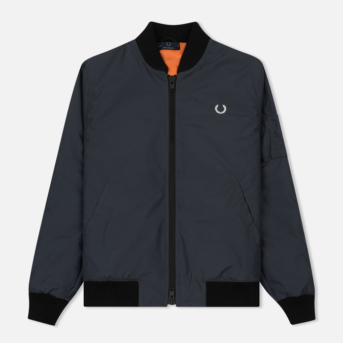 Мужская куртка бомбер Fred Perry Laurel Made In England Padded Graphite