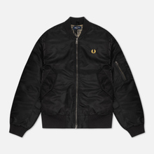 Мужская куртка бомбер Fred Perry Quilted Black фото- 0