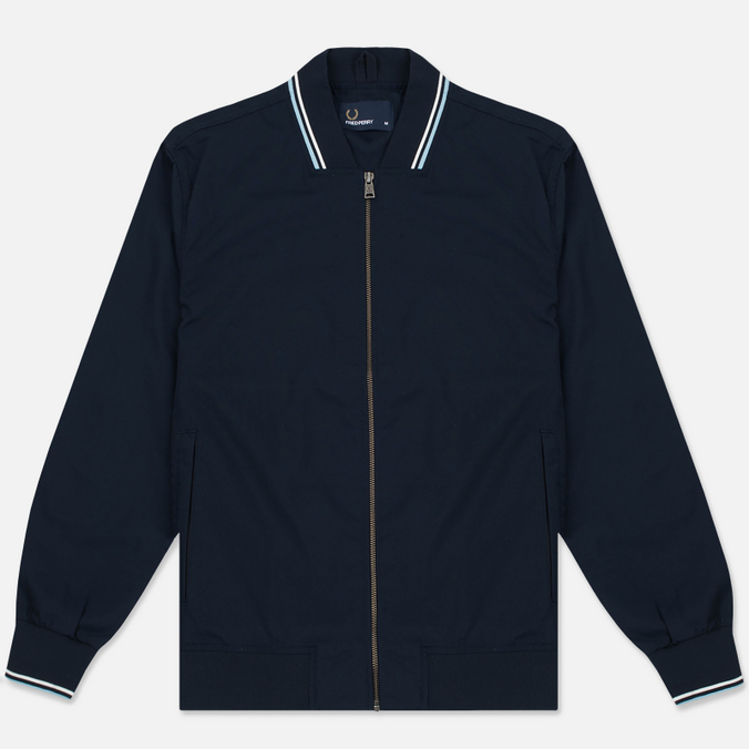 Мужская куртка бомбер Fred Perry Twin Tipped Bright Navy