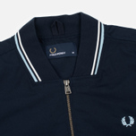 Мужская куртка бомбер Fred Perry Twin Tipped Bright Navy фото- 1