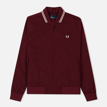 Мужская куртка бомбер Fred Perry Twin Tipped Rosewood